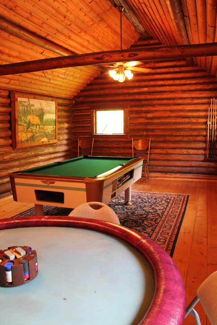 Includes a separate billiards room