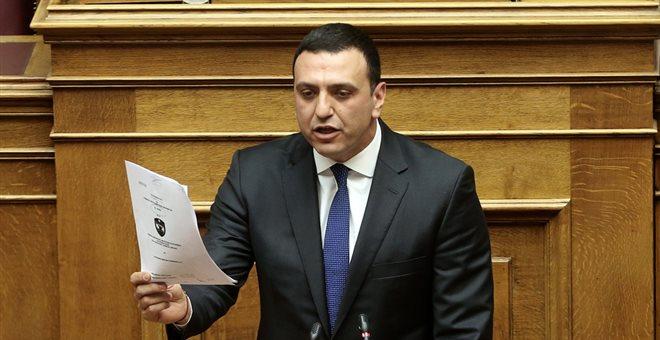 Κικίλιας: Κομματάρχης του ΣΥΡΙΖΑ ο Βούτσης. Δεν υπηρετεί το θεσμικό του ρόλο