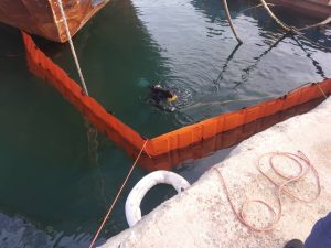 Νέο περιβαλλοντικό πλήγμα στον κόλπο της Ελευσίνας (φωτο - βιντεο)