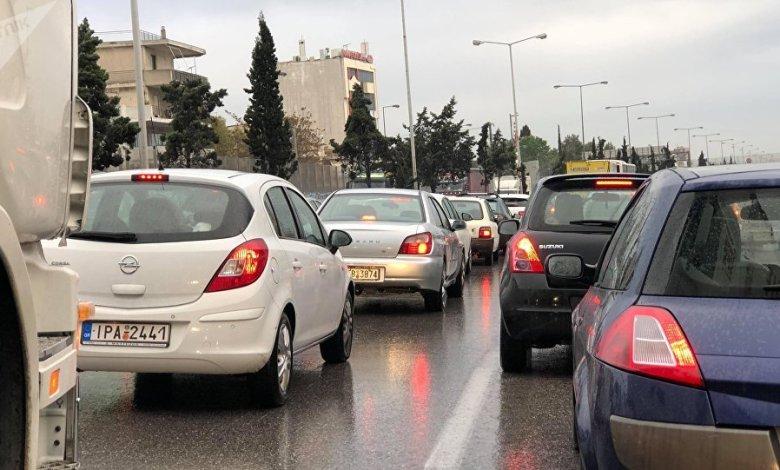 Τροχαίο στην Αθηνών - Κορίνθου - Ουρές χιλιομέτρων