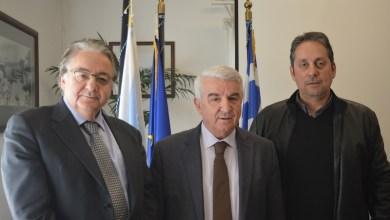 Επίσκεψη του Αντιπροέδρου της Βουλής Αθανάσιου Μπούρα στον Οργανισμό Λιμένος Ελευσίνας Α.Ε.