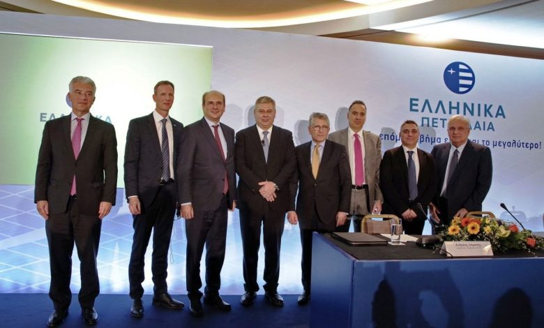 Συµφωνία - ορόσηµο από τα ΕΛΠΕ για τη δηµιουργία γιγάντιου Πάρκου Φωτοβολταϊκών