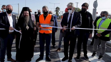 Παραδόθηκε το νέο τμήμα της Παλαιάς ΕΟ Αθηνών-Θηβών μετά τα καταστροφικά πλημμυρικά φαινόμενα της Μάνδρας