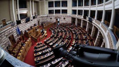 Live η συζήτηση στην Βουλή