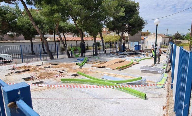Ασπρόπυργος: Το Πράσινο Ταμείο «μεταμορφώνει» την Πλατεία Σεβαστάκη