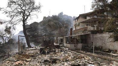 Aύξηση του κινδύνου για πλημμυρικά φαινόμενα μετά την πυρκαγιά στον Σχίνο