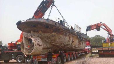Οριστική απομάκρυνση επιβλαβούς πλοίου απο το λιμάνι της Ελευσίνας
