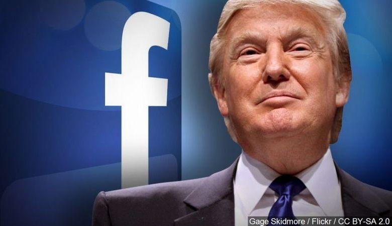To Facebook «έκλεισε»για δύο χρόνια τον λογαριασμό του Ντοναλντ Τραμπ