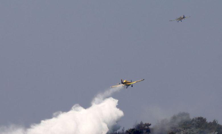 Κόρινθος: Φωτιά σε εξέλιξη στο Καλέντζι