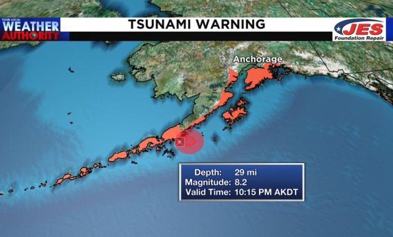 Sεισμός 8,2 Ρίχτερ στην Αλάσκα – Προειδοποίηση για τσουνάμι