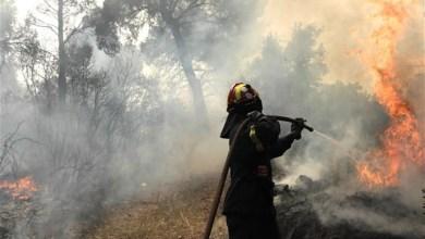 Εστίες πυρκαγιάς στις Αχαρνές λόγω κεραυνών
