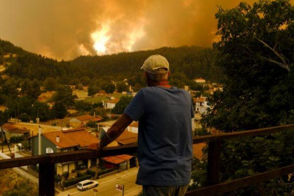 Δραματικές εκτιμήσεις για την καταστροφή στην Εύβοια