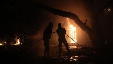 Ολονύχτιος εφιάλτης: Μαίνεται η πυρκαγιά στην περιοχή της Βαρυμπόμπης
