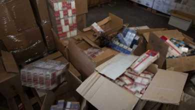 165.000 πακέτα λαθραία τσιγάρα εντοπίστηκαν στον Ασπρόπυργο
