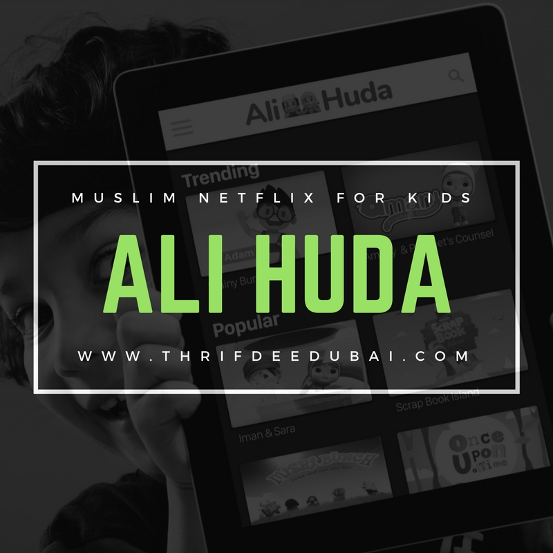 Ali Huda TV Netflix For Kids ThrifDeeDubai Discount