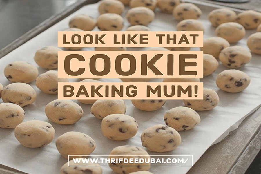 Cookie Baking Recipe Money Saving Time Saving ThrifDeeDubai.com