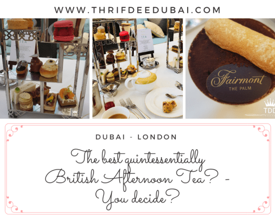 Afternoon Tea Dubai London