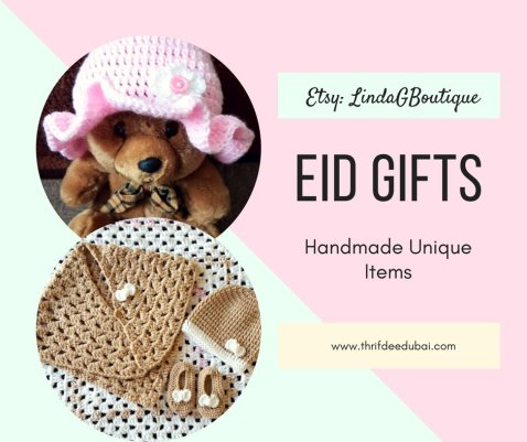 Eid Gifts Handmade Crochet Items Gift Guide Ramadan Thrifdeedubai