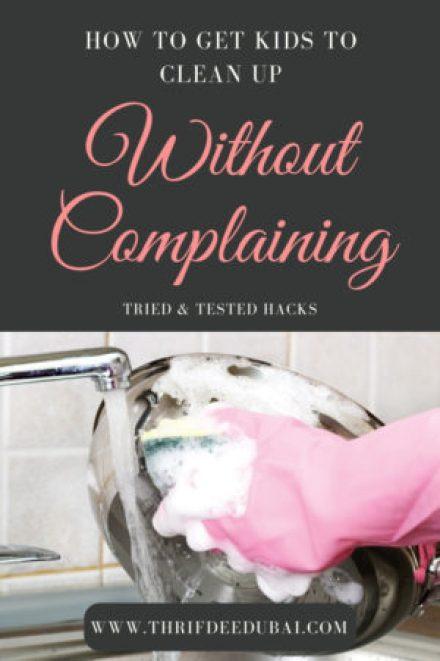 Kids Chores How To Hacks Tips Children Cleaning Thrifdeedubai