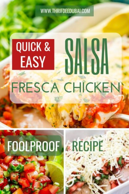 Quick Salsa Fresca Chicken Recipe Easy Food Foolproof Thrifdeedubai