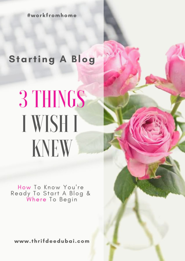 3 things you NEED to know before you begin your blog. Blogging advice How to know you are ready to launch a blog & where to begin