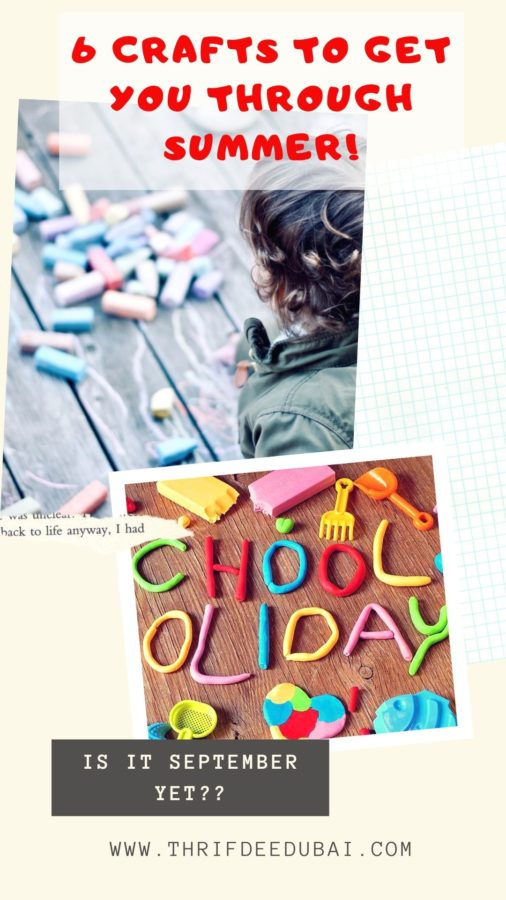 How To Keep Them Busy - Crafts Summer Holidays Vacation School's Out September Back To School What To Do With Kids Lifestyle Parenting Children Activities