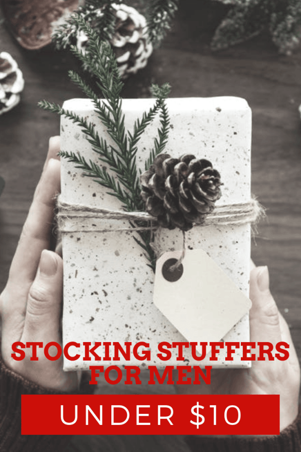 Stocking Stuffers for Men Under $10 | Thrifted & Taylor'd | #giftguide #giftsforhim #stockingstuffers #stockingstuffersforhim #giftideas