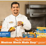 Ortega Mexican Meals Made Easy Instant Win Game ends 5/5