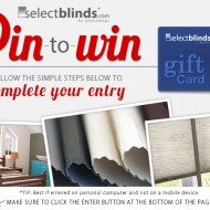 SelectBlinds.com $500 Pin to Win Sweepstakes ends 5/16
