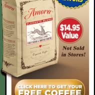 Amora – FREE COFFEE