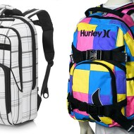 Hurley Backpacks ONLY $16.99 SAVE 79%