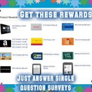 Answer Single Question Surveys to Earn Rewards
