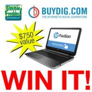 HP Touchscreen Laptop Giveaway ends 12/22