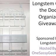 Longstem Over the Door Organizer Giveaway ends 12/14