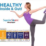 Superior Source Vitamins Prize Pack Giveaway ends 3/30