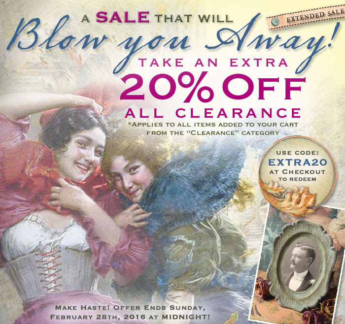 Victorian Trading Co. - Extra 20% off all Clearance!