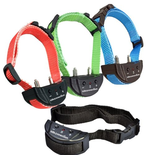 K9konnection® Advanced No Bark Dog Shock Collar with 7 Levels Adjustable Sensitivity Control
