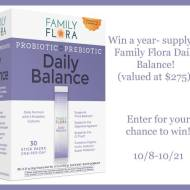 Family Flora Giveaway