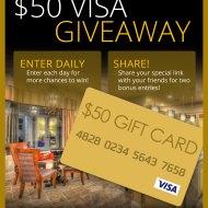 Kargar Homes $50 Visa Gift Card Sweepstakes