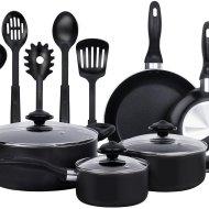 13 Pieces Heavy Duty Cookware Set -$36.99