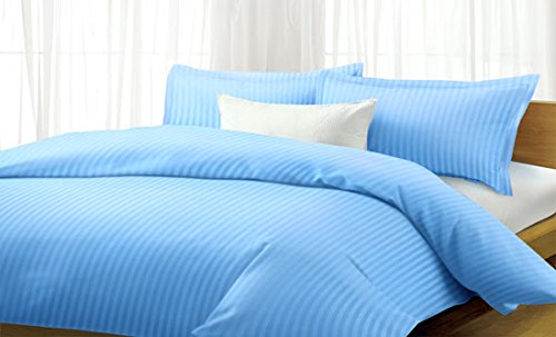 Classic Sateen Stripe 1600 Series 4 Piece Sheet Set Queen and other Sizes