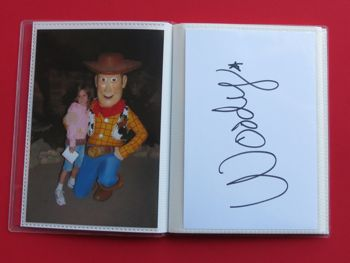 Make Your Own Disney Autograph Books Out Of Mini Photo