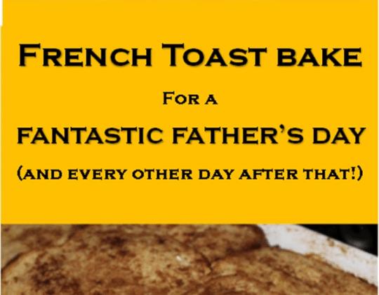 Best brunch idea ever!! Father's Day breakfast idea.
