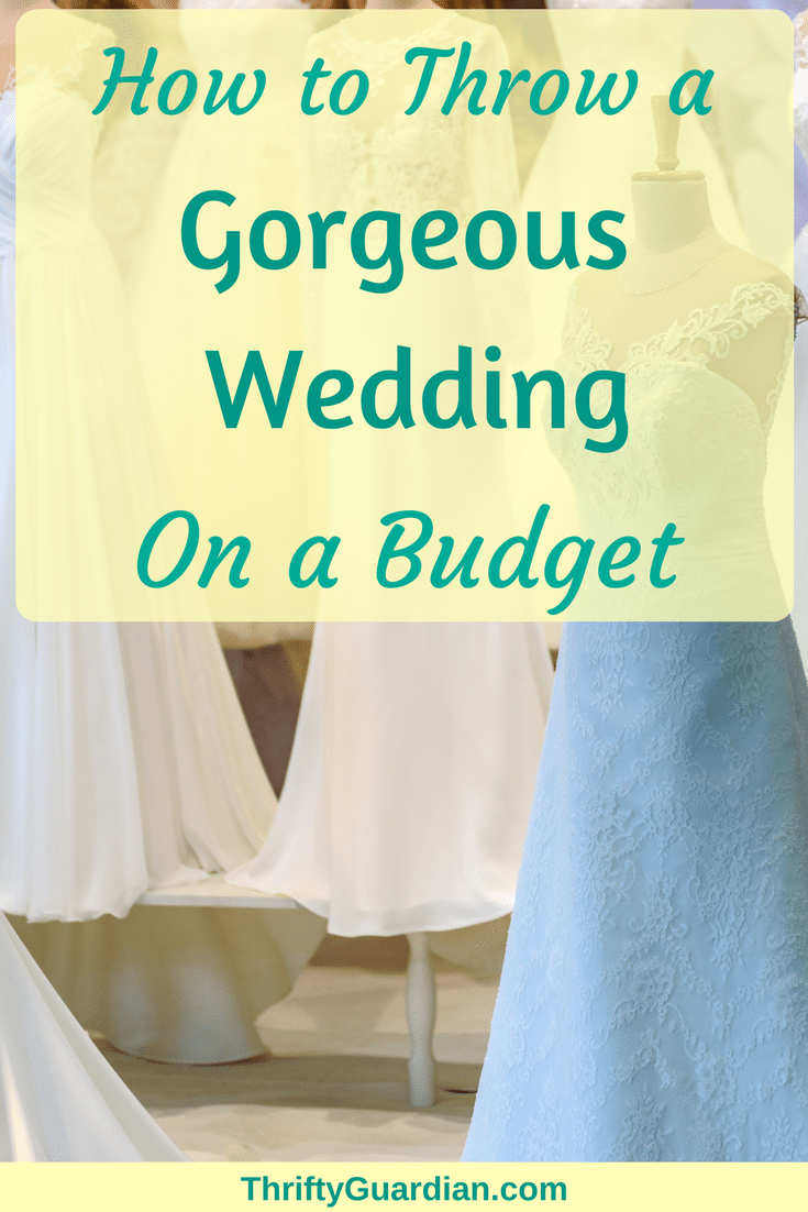 Frugal wedding planning doesn't have to mean cheap wedding planning. Find out how I threw a wedding on a budget! #wedding #budget #weddingdress #cheapwedding #diywedding #weddingideas