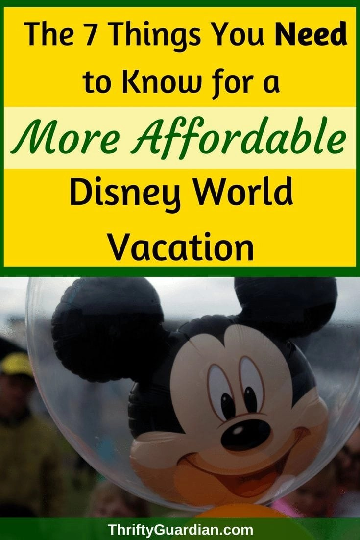 Helpful tips on how to save money at Disney World. Go to Disney World and enjoy yourselves without spending a lot of money. Must-know tips on Disney World. #disney #disneyworld #frugaltravel #savemoney #familyfun