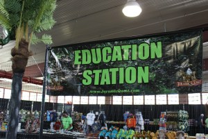 jurassic quest education station