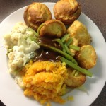 Meatless Sunday Lunch, 57p a serving