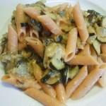 Courgette Pasta 46p a serving