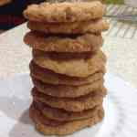 Meal Plan 8 – Coconut Biscuits, 3p each, or 61p for a 24 biscuit batch