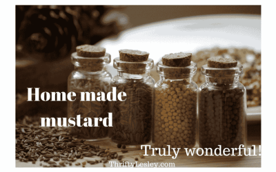 Things you may never need to buy again – mustard